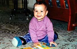 הודיה קדם פימשטיין תינוקת נרצחה