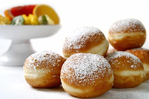Рецепт пончиков на сгущенке в домашних