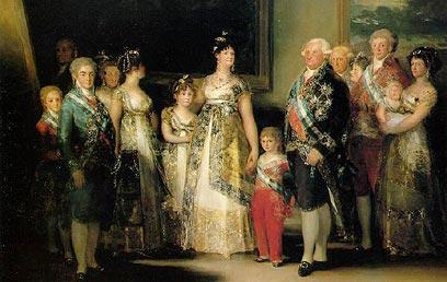 גויה: משפחת קרלוס הרביעי