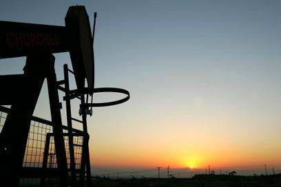 קידוח נפט. המשבר בפתח (צילום: AFP)