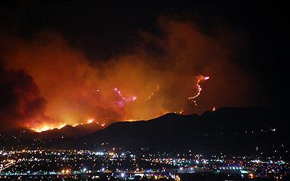 אולטרה מידי מצב חירום בקליפורניה: לוס אנגלס בוערת XO-47