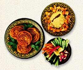 ארוחה מסורתית בפחות קלוריות