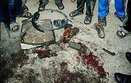 שרידי כסא הגלגלים של יאסין, לאחר ההתנקשות