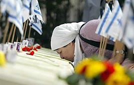 יום הזיכרון בית קברות הר הזיתים