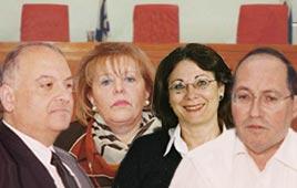 אליקים רובינשטיין אסתר חיות  עדנה ארבל סלים ג'וברן