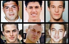 ששת חיילי גבעתי שנהרגו