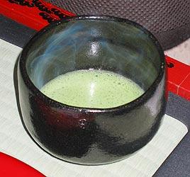 כוס תה ירוק