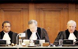 שופטי בית הדין הבינלאומי בהאג