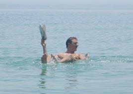 כריס נות' בים המלח