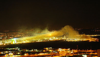 זיהום אווירבחיפה (צילום: ערן ובר)