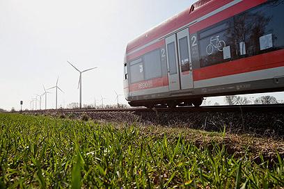 רכבת של דויטשה באן (צילום: רויטרס)