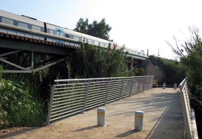 חדש: גשר מקורות הירקון (צילום: אייל פרידמן)