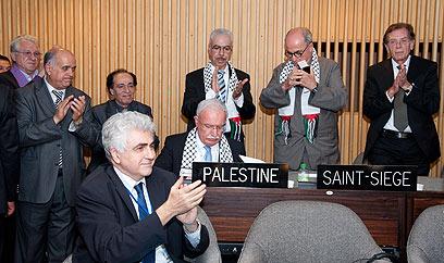 קבלת פלסטין לאונסק