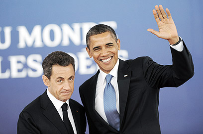 Obama and Sarkozy at the G-20 (Photo: MCT)