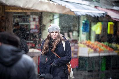 גשם או שלג? היום בירושלים (צילום: נועם מושקוביץ)