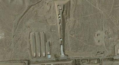 איראן ממשיכה להעלים ראיות מבסיס פרצ'ין (צילום: Google Earth, GeoEye)