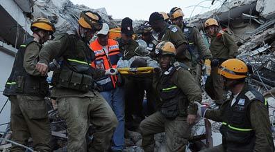 """המשלחת הישראלית בהאיטי (צילום: דובר צה""""ל)"""