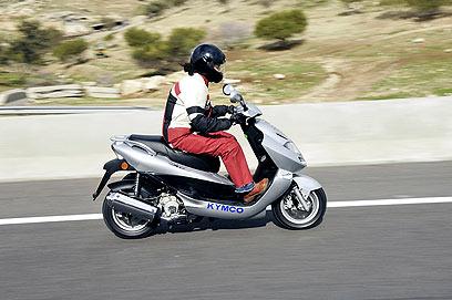 הוראות חדשות השוואה: הקטנוע הטוב בישראל NK-95