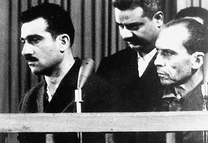 בבית המשפט בסוריה, 1965 (צילום: איי אף פי)
