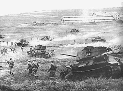 Germany begins the takeover of Russia with Operation Barbarossa. <http://www.ynet.co.il/PicServer2/20122005/887900/battle-of-kursk_wa.jpg>.