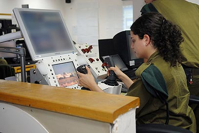 IDF remote control gunner