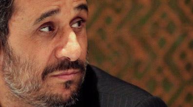 נשיא איראן אחמדינג'אד (צילום: רויטרס)