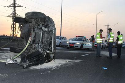 התאונה בכביש מס' 1
