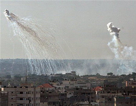 Gaza Under Fire (AP)