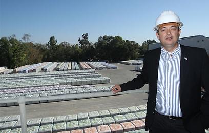 """אלי הכן, מנכ""""ל תרמוקיר (צילום: ארגון חיים וסביבה)"""