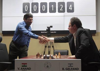"""""""משחקי הבזק - פחות שחמט ויותר מזל"""" (צילום: EPA)"""