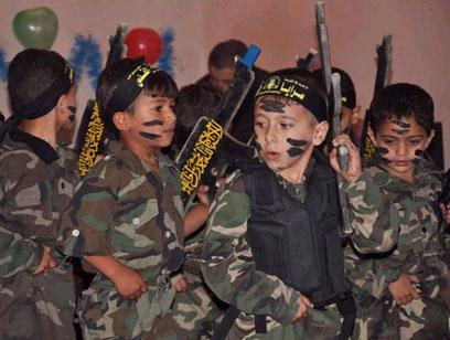 Утренник в детском саду сектора Газа