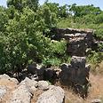 שרידי עתיקות באב אל הווא צילום: רונית סבירסקי