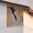 פגיעה ישירה צילום: זאב טרכטמן