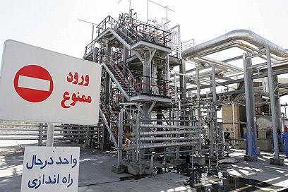 הכור הגרעיני האיראני באראק (צילום: gettyimages)