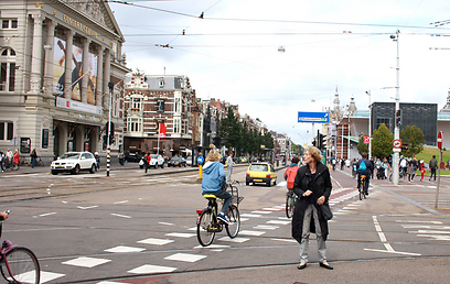 האופניים בהולנד הפכו למטרד? (צילום: רון פוטרמן)