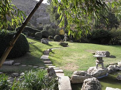 לקבל נירוונה נפשית בעמק יזרעאל. גן הזן בחפציבה (צילום: דר' ירון זפרן)
