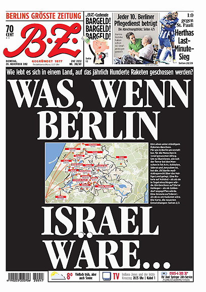 שער העיתון הגרמני