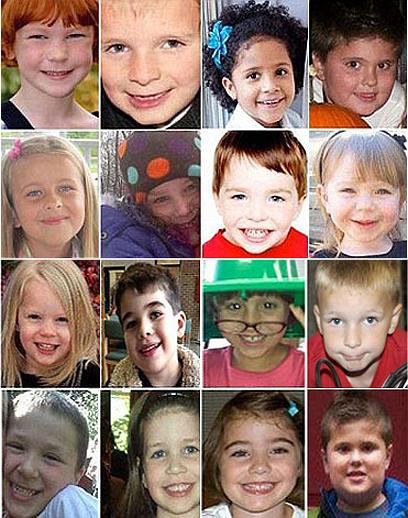 16 מ-20 ההרוגים בניוטאון