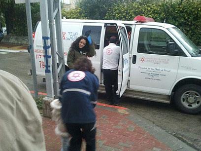כל ילדי הגן פונו לבית החולים. רחובות, היום