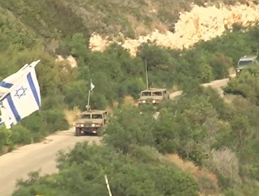 צבא לבנון עצר ישראלי שחצה הגבול