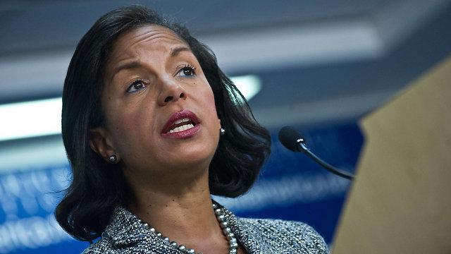 Susan Rice reassured Israel that the US will be tough in Iran negotiations (Photo: AFP) (Photo: AFP)