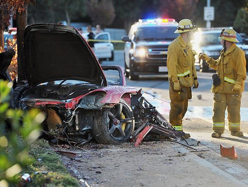 Scene of fatal accident in Los Angeles (Photo: AP)