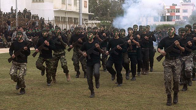 Young Gazans in Hamas training camp (Photo: MCT) (Photo: MCT)