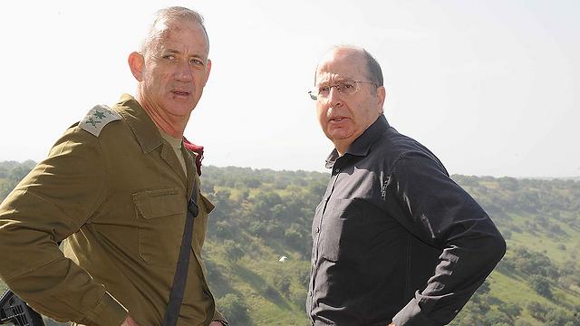 Ya'alon and Gantz face an extreme budget crisis (Photo: Avihu Shapira) (Photo: Avihu Shapira)