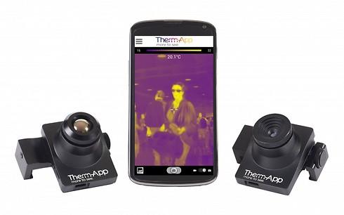 ברצינות צופים בחשיכה: מצלמה תרמית לסמארטפון HL-75