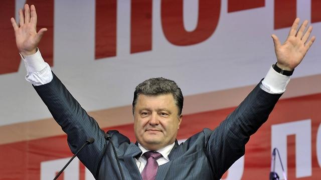 The new president of Ukraine, Petro Poroshenko (Photo:AFP)