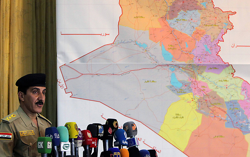 Iraqi army spokesman Qassim Atta (Photo: AFP)
