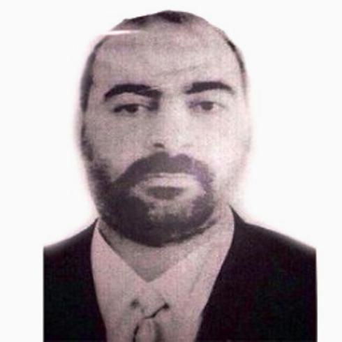 ISIS leader Abu Bakr al-Baghdadi in one of the few photos ever taken of him.