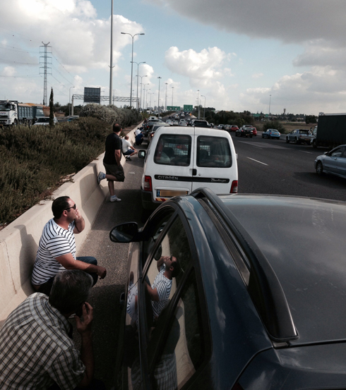Israelis duck for cover as rockets fired at central Israel