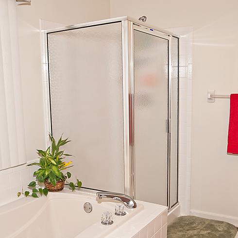 אולטרה מידי רואים שקוף: דלת זכוכית במקלחת ובמרפסת DX-07